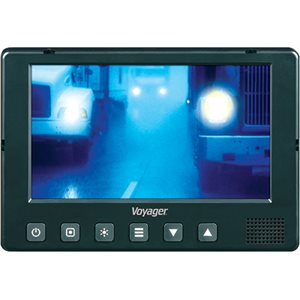 """Voyager VOM719WP - 7"""" Heavy Duty Quad-View Monitor"""