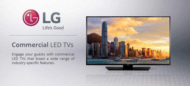 LG Commercial LED TVs
