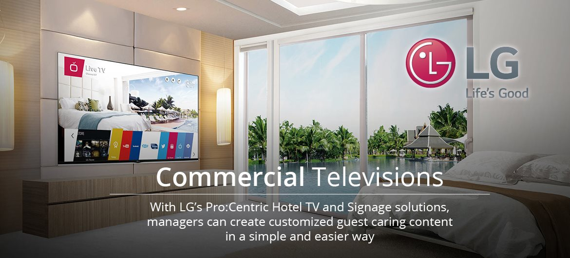 LG Hotel and Signage Solutions